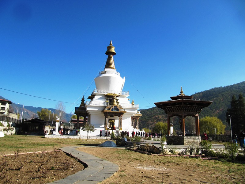 Memorial Chorten in Thimpu